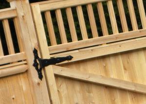 Timber Gates